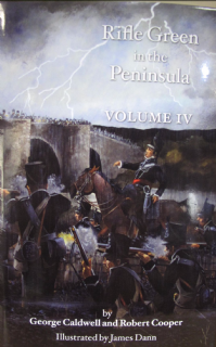 Book-Rifle Green in the Peninsula, volume IV